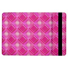 Pink Sweet Number 16 Diamonds Geometric Pattern Ipad Air Flip by yoursparklingshop