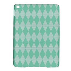 Mint Color Diamond Shape Pattern Ipad Air 2 Hardshell Cases by picsaspassion
