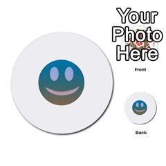 Smiley Multi Purpose Cards (round)