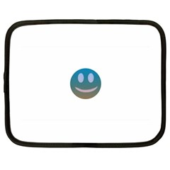 Smiley Netbook Case (xxl)  by picsaspassion