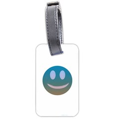 Smiley Luggage Tags (one Side)  by picsaspassion