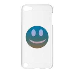 Smiley Apple Ipod Touch 5 Hardshell Case by picsaspassion