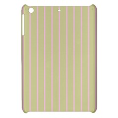 Summer Sand Color Pink Stripes Apple Ipad Mini Hardshell Case by picsaspassion