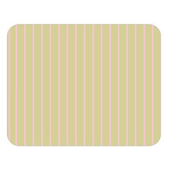 Summer Sand Color Pink Stripes Double Sided Flano Blanket (large)  by picsaspassion