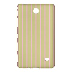 Summer Sand Color Pink Stripes Samsung Galaxy Tab 4 (7 ) Hardshell Case  by picsaspassion
