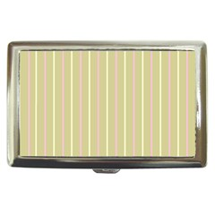 Summer Sand Color Pink And Yellow Stripes Cigarette Money Case by picsaspassion
