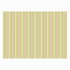 Summer Sand Color Pink And Yellow Stripes Collage 12  X 18  by picsaspassion