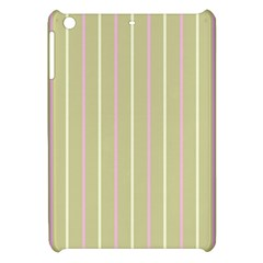 Summer Sand Color Pink And Yellow Stripes Apple Ipad Mini Hardshell Case by picsaspassion