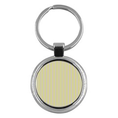 Summer Sand Color Lilac Stripes Key Chains (round)  by picsaspassion