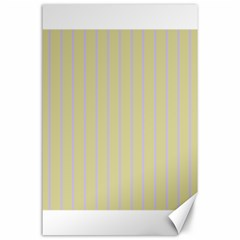 Summer Sand Color Lilac Stripes Canvas 24  X 36  by picsaspassion