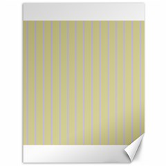 Summer Sand Color Lilac Stripes Canvas 36  X 48