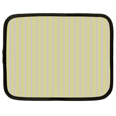 Summer Sand Color Lilac Stripes Netbook Case (xxl)  by picsaspassion
