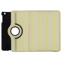 Summer Sand Color Lilac Stripes Apple Ipad Mini Flip 360 Case