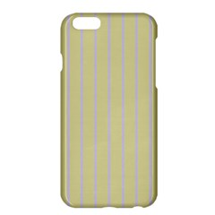 Summer Sand Color Lilac Stripes Apple Iphone 6 Plus/6s Plus Hardshell Case by picsaspassion