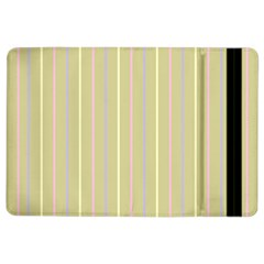 Summer Sand Color Lilac Pink Yellow Stripes Pattern Ipad Air 2 Flip by picsaspassion