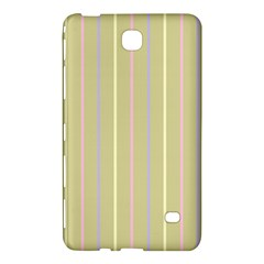 Summer Sand Color Lilac Pink Yellow Stripes Pattern Samsung Galaxy Tab 4 (7 ) Hardshell Case  by picsaspassion