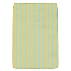 Summer Sand Color Blue Stripes Pattern Flap Covers (s)
