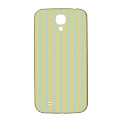 Summer Sand Color Blue Stripes Pattern Samsung Galaxy S4 I9500/i9505  Hardshell Back Case by picsaspassion