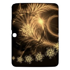 Golden Feather And Ball Decoration Samsung Galaxy Tab 3 (10 1 ) P5200 Hardshell Case  by picsaspassion