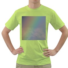 Between The Rainbow Green T Shirt by picsaspassion