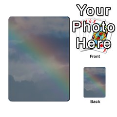 Rainbow In The Sky Multi Purpose Cards (rectangle)  by picsaspassion