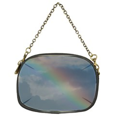 Rainbow In The Sky Chain Purses (one Side)  by picsaspassion