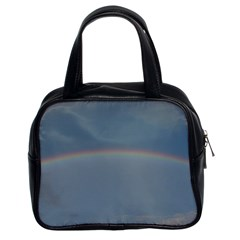 Colorful Rainbow Classic Handbags (2 Sides) by picsaspassion