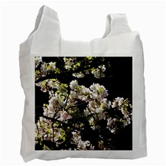 Japanese Cherry Blossom Recycle Bag (one Side) by picsaspassion