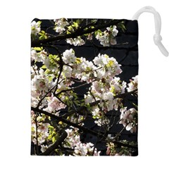 Japanese Cherry Blossom Drawstring Pouches (xxl) by picsaspassion