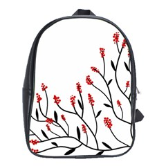 Elegant Tree School Bags (xl)  by Valentinaart