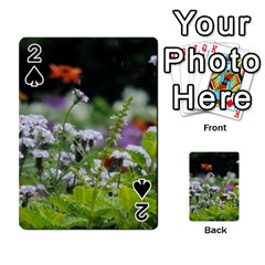 Wild Flowers Playing Cards 54 Designs  by picsaspassion