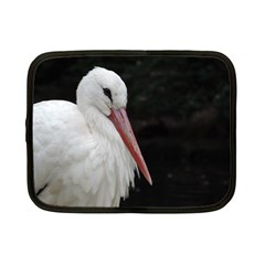 Stork Bird Netbook Case (small)  by picsaspassion
