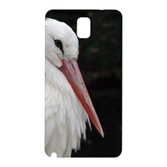 Stork Bird Samsung Galaxy Note 3 N9005 Hardshell Back Case by picsaspassion