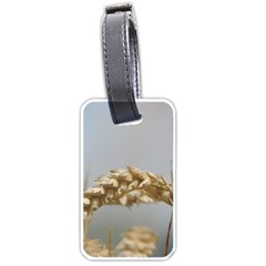 Cornfield Luggage Tags (one Side)  by picsaspassion
