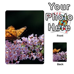 Butterfly Sitting On Flowers Multi Purpose Cards (rectangle)  by picsaspassion