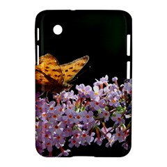 Butterfly Sitting On Flowers Samsung Galaxy Tab 2 (7 ) P3100 Hardshell Case  by picsaspassion