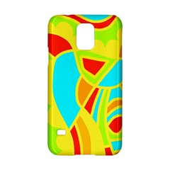 Colorful Decor Samsung Galaxy S5 Hardshell Case