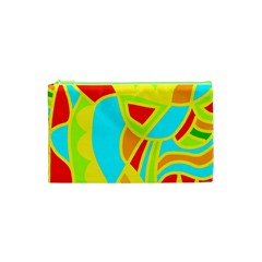 Colorful Decor Cosmetic Bag (xs)