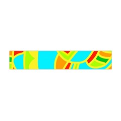 Colorful Decor Flano Scarf (mini) by Valentinaart