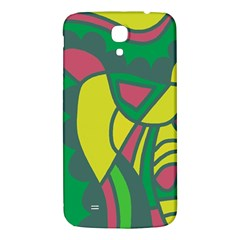 Green Abstract Decor Samsung Galaxy Mega I9200 Hardshell Back Case by Valentinaart