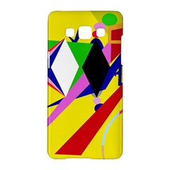 Yellow Abstraction Samsung Galaxy A5 Hardshell Case