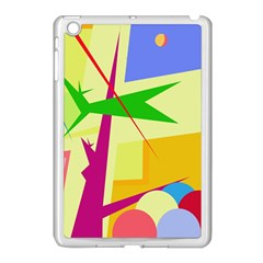 Colorful Abstract Art Apple Ipad Mini Case (white) by Valentinaart