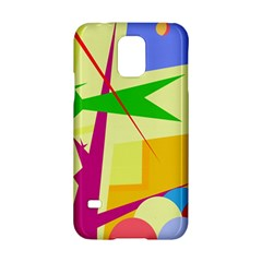 Colorful Abstract Art Samsung Galaxy S5 Hardshell Case