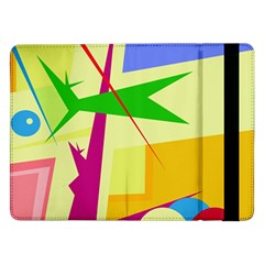 Colorful Abstract Art Samsung Galaxy Tab Pro 12 2  Flip Case