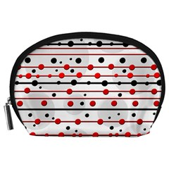 Dots And Lines Accessory Pouches (large)