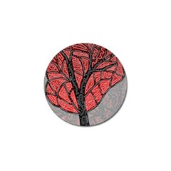 Decorative Tree 1 Golf Ball Marker (10 Pack) by Valentinaart