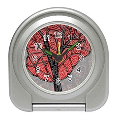 Decorative Tree 1 Travel Alarm Clocks by Valentinaart