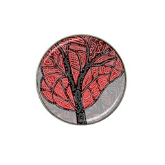 Decorative Tree 1 Hat Clip Ball Marker (10 Pack) by Valentinaart
