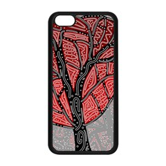 Decorative Tree 1 Apple Iphone 5c Seamless Case (black)