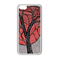 Decorative Tree 1 Apple Iphone 5c Seamless Case (white) by Valentinaart